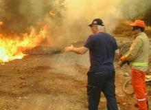 Kaş'ta 25 hektar alan yandı
