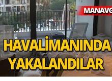 Manavgat'ta otel odasına zarar veren turistler yakalandı