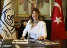 MMO Antalya Başkanı Ayşen Hamamcıoğlu'ndan bayram mesajı