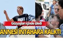 Muratpaşa'da annesinin intihar girişimini gözyaşları içinde izledi