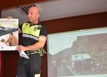 Akseki'de öğretmenlere trafik eğitimi