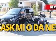 Antalya'da motosiklet minibüsle çarpıştı