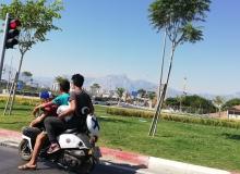 Antalya'da ölüm ile burun buruna