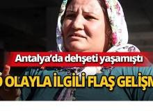 Antalya'da pes dedirten olayla ilgili flaş gelişme!