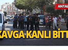 Antalya'da vatandaşla sivil polisin kavgası kanlı bitti