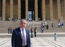 Başkan Böcek'ten Anıtkabir'e ziyaret
