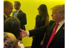 Cumhurbaşkanı Erdoğan ile Trump ayaküstü görüştü