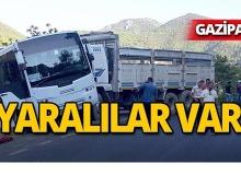 Gazipaşa'da feci kaza : Öğrenciler yaralandı!