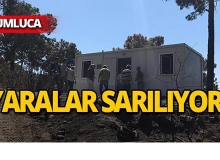 Kumluca'daki felaketin yaraları sarılıyor