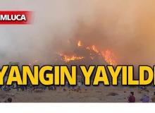 Kumluca'daki yangın yayıldı!