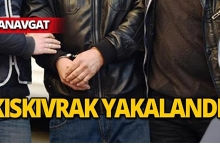 Manavgat'ta yakalandı!