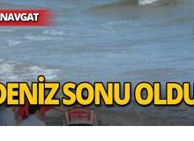 Manavgat'ta yaşlı turist hayatını kaybetti