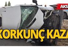 Akseki'de feci kaza : Yaralılar var!