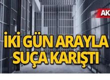 Aksu'da hırsızlık şüphelisi cezaevinde çıktı!