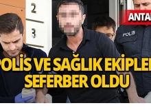 Antalya'da ilginç olay!