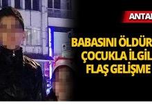 Antalya'da kan donduran cinayetle ilgili önemli gelişme