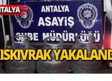 Antalya'da pişkin hırsız iş yerini soyduktan sonra mesaisine devam etti!
