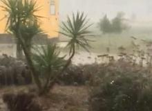 Antalya şiddetli yağmurun etkisinde