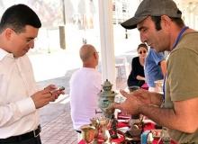 Başkan Tütüncü 'Antika Pazarı'nı gezdi