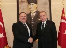 Cumhurbaşkanı Erdoğan, ABD Dışişleri Bakanı Pompeo'yu kabul etti