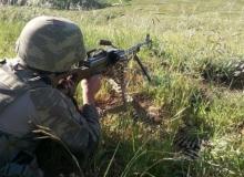 Dargeçit'te çatışma: Bir asker şehit, bir yaralı!