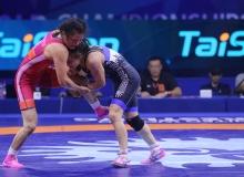 Elif Jale Yeşilırmak, finale çıktı, altın madalya için güreşecek