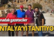Kanadalı gazeteciler Antalya'yı tanıtıyor