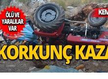 Kemer'de feci kaza : Ölü ve yaralılar var