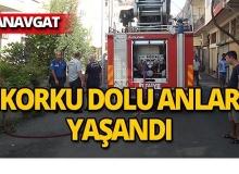 Manavgat'ta yangın paniği!