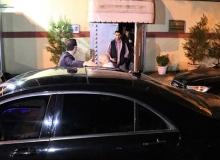 Suudi Arabistan Başkonsolosluğu'nda hareketli gece