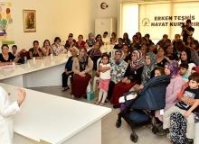Zeytinköy'de meme kanseri bilgilendirme toplantısı düzenlendi