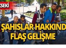 Akseki'de yakalanan şahıslar hakkında flaş gelişme!