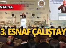 Antalya'da 3. Ensaf Çalıştaytı düzenlendi