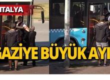 Antalya'da gaziye büyük ayıp!
