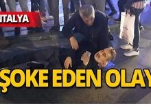 Antalya'da kanlar içinde kaldı!