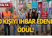 Antalya'da korkunç olay : Ekipler her yerde onu arıyor!