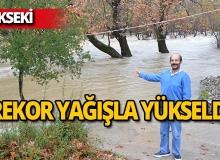 Antalya Üzümdere Irmağı'nın su seviyesi yükseldi