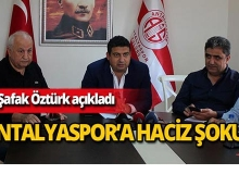 Antalyaspor'da 'son dakika' haciz şoku!