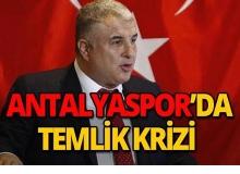 Antalyaspor'da 'temlik' krizi!