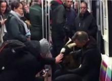 Çalıp metroya binmeye çalıştı!