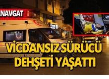 Manavgat'ta feci kaza : Saniye saniye kaydedildi!