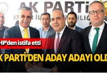 Topaloğlu, Ak Parti'den aday adayı oldu