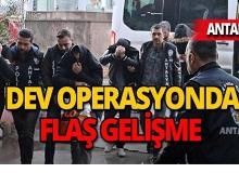 Antalya'da 'Guten Morgen' operasyonu : 15 tutuklama!