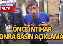 Antalya'da kanlar içinde kaldı, sonra bakın ne yaptı!