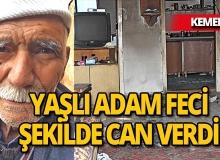 Antalya'da marangoz yanarak can verdi