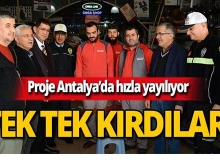 Antalya'da projeye destek büyüyor!