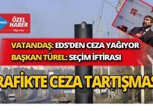 Antalya'da trafikte ceza tartışması!