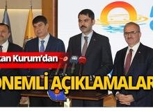 Bakan Kurum Antalya'da önemli açıklamalarda bulundu