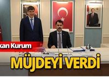Bakan Kurum'dan Antalya'ya müjdeli haber!