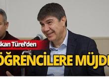 Başkan Türel'den öğrencileri sevindirecek haber!